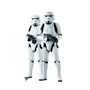 Advanced Graphics 2257 71 x 38 in. Stormtroopers - Rogue One Cardboard Standup