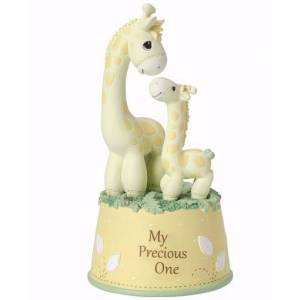 Precious Moments 144190 6 in. My Precious One Musical Giraffe Brahms Lullaby
