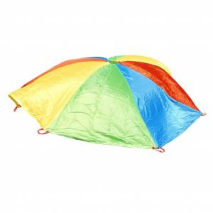 WINTHER WING2304 20 ft. Rosco Sport Rainbow Play & Cooperation Parachute
