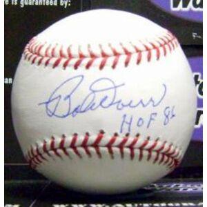 Autograph Warehouse 301765 Bobby Doerr Signed Baseball Inscribed HOF 86 - OMLB Hall of Fame Boston Red Sox
