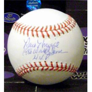 Autograph Warehouse 388612 Ray Knight Autographed Baseball Inscribed 1986 World Series MVP