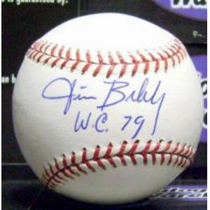 Autograph Warehouse 410238 Jim Bibby Autographed Baseball Inscribed 79 WC OMLB Pittsburgh Pirates 1979 World Series Champion