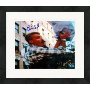 Autograph Warehouse 270570 Bill Buckner Autographed 8 x 10 in. Photo - Boston Red Sox Curb Your Enthusiasm Image - No. 2 Baby Catch Matted & Framed
