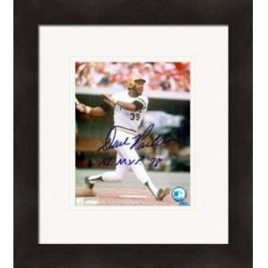 Autograph Warehouse 270638 Dave Parker Autographed 8 x 10 in. Photo Inscribed 78 NL MVP - Pittsburgh Pirates Matted & Framed