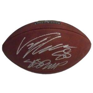 Denver 12398 Broncos Authentic Super Bowl 50 SB MVP JSA Von Miller Autographed Football