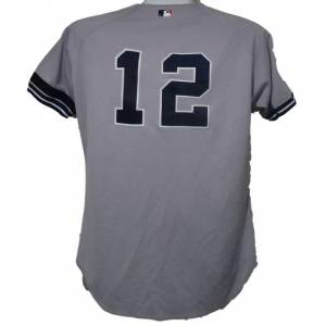 Denver 14336 Denny Neagle Unsigned New York Yankees Game Used 2000 World Series Jersey