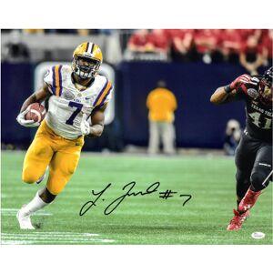 Athlon Sports CTBL-022349 16 x 20 in. JSA Witnessed Hologram WP349687 Leonard Fournette LSU Tigers No.7 Signed Photo Vs Texas Tech