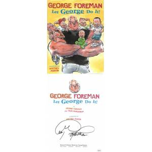 Athlon Sports CTBL-029004 George Foreman Signed 2005 Let George Do It Childrens Hardcover Book JSA Authenticated No. EE62413