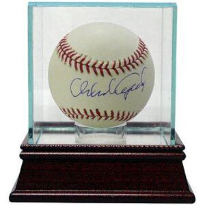 Athlon CTBL-GC8274 Orlando Cepeda Signed Official Major League Baseball with Glass Case