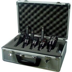 Audix AUD-DPELITE8 Black Hard-Coat Drum Package