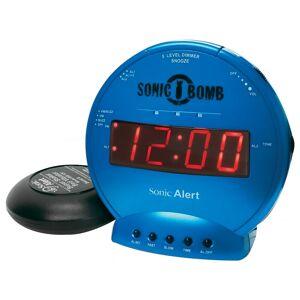 Sonic Alert SA-SBB500SS-T Sonic Bomb Vibrating Alarm Clock - Turquoise