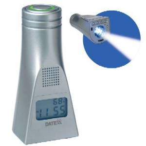 Datexx LED-45 The Lighthouse - LED Light with Talking Alarm Clock