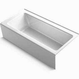 Kohler K8480 32 x 66 in. Bellwether Cast Iron Soaking Bath Tub, White
