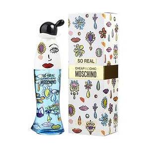 Moschino 306412 3.4 oz So Real EDT Spray for Women