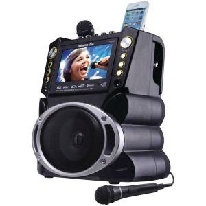 Karaoke USA GF844 7 in. DVD & Bluetooth Karaoke Machine