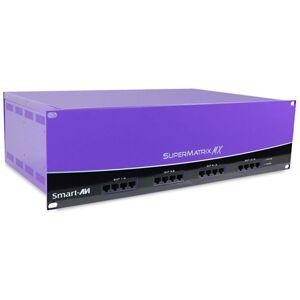 Smart-AVI SAVI-SMXAV6416S Component or UXGA & Audio Over CAT5 64 x 16 Matrix with RS-232