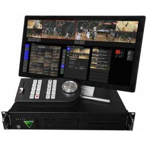 FOR-A VSGENVHS4X12LPBS Envivo Replay System with 1 High Speed 4X HD-SDI, 3G Input & 2 HD-SDI - 3G Outputs