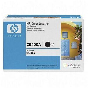 HP Black Toner Cartridge For LaserJet CP4005  CP4005n and CP4005dn Printers Black CB400A