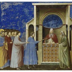 Posterazzi SAL26323 The Virgins Suitors Presenting Their Rods C 1305-1313 Giotto di Bondone C 1266-1337 Florentine Fresco Poster Print - 18 x 24 in.