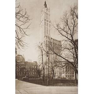 Posterazzi DPI1857235 The Woolworth Building New York From The Book The Outline of History by H.G.Wells Volume 2 Published 1920 Poster Print, 12 x 18