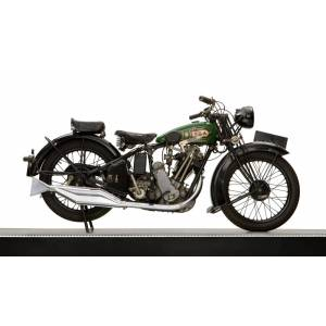 Panoramic Images PPI170355 1929 Bsa Sloper 500Cc Motorcycle Poster Print, 12 x 20