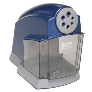 Elmers Products Inc Elmers Products 1670LMR 5 ft. School Pro Classroom Electric Pencil Sharpener, Blue & Gray