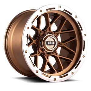 GRID WHEELS C29865Z152 20 x 9.0 in. 8 x 165.1 in. Bolt Pattern 15 Offset 125 mm Hub Wheel