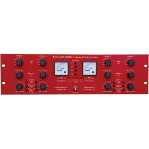 Thermionic Culture THER-EARLYBIRD-4 4 Channel Pre-Amp, Red
