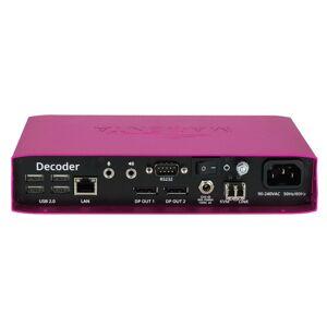 TV One TV1-MG-KVM-832 Magenta Pathfinder DP1.2 KVM Fiber Decoder for Supports up to 4096x2160