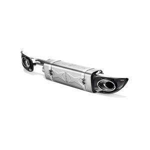 Akrapovic S-PO997TFLH Titanium Slip-on Line with Tips for 2010-2013 Porsche 911 Turbo & Turbo S 997 FL