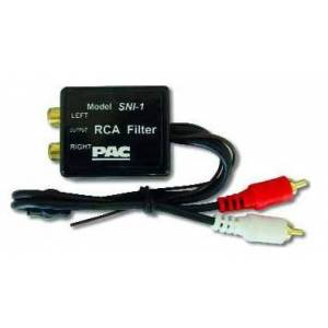 Pacific Acc CORP . SNI1 Ground Loop Isolator Noise Filter for all Car Amplifiers with RCA