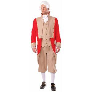 Forum Novelties Costumes 277767 British Red Coat Adult Costume, Extra Large