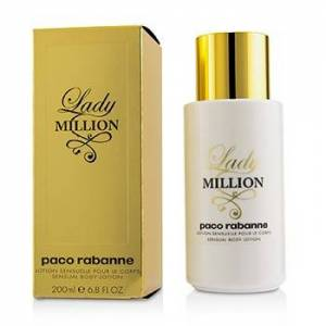 Paco Rabanne 221730 6.8 oz Lady Million Sensual Body Lotion