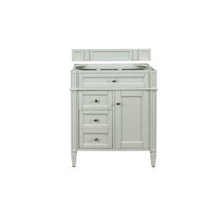 James Martin Furniture 650-V30-SGR 30 in. Brittany Single Vanity, Sage Green