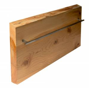 Made-to-Order 32 x 16 in. Live Edge Cedar Wood Towel Warmer