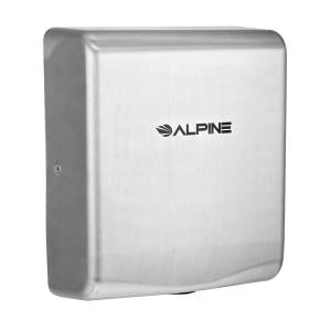 Alpine ALP405-10-SSB 120V Willow High Speed Commercial Hand Dryer, Stainless Steel