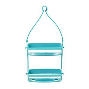 Umbra 023460-276 Flex Shower Caddy, Surf Blue
