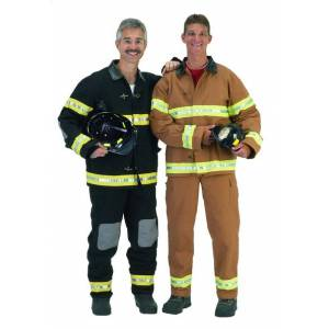 Aeromax Inc. Aeromax FFB-ADULT SML Adult Fire Fighter Suit with Helmet size SML - Black