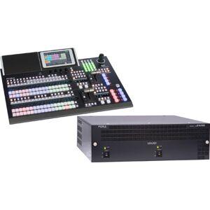 FOR-A FORA-HVS1200TY-A Hanabi 4K, 12G, 3G & HD Video Switcher with HVS-492OU 18-Button Control Panel Bundle