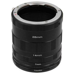 Fotodiox Macro-Tube-OM43 Macro Extension Tube Set for Olympus 4-3 Mount Mirrorless Camera