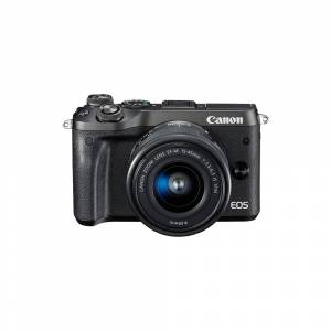 CANON-PHOTO VIDEO 1724C011 Mirrorless Digital Camera with 15-45mm Lens