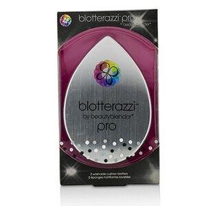 BeautyBlender 211019 2 Piece Blotterazzi - 2x Washable Oil Blotting Sponges - Pro Black