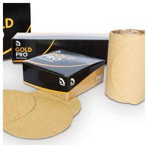 U.S. Chemical & Plastics U. S. Chemical & Plastics USC-080612 6 in. Gold Paper Roll - PSA P240