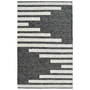Dynamic Rugs OK8108372199 Oak 8 x 10 ft. Modern Cotton & Wool Area Rug - Ivory & Charco
