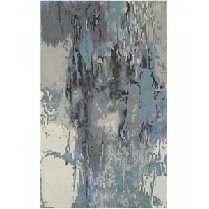 ORIENTAL WEAVERS G21906305396ST Galaxy Indoor Contemporary Abstract Rectangle Area Rug, Blue - 10 x 13 ft.