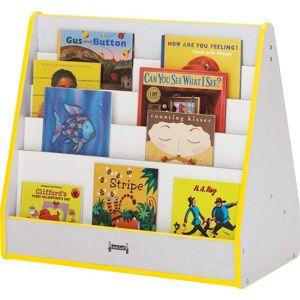 Jonti-Craft 3508JCWW180 - Rainbow Accents Pick-A-Book Stand - 1 Sided - Black Trim