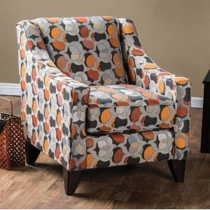 NewestEdition Pennington Contemporary Vanessa Accent Chair, Multi Color