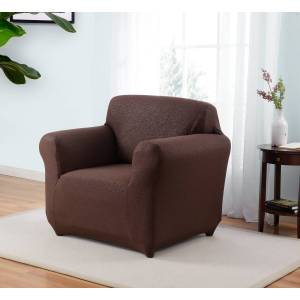 Madison Industries Madison ING-CH-BN Kathy Ireland Ingenue Chair Slipcover, Brown