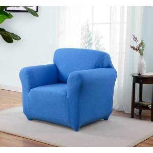 Madison Industries Madison ING-CH-CB Kathy Ireland Ingenue Chair Slipcover, Cobalt