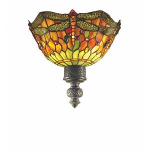 Meyda 30114 Dragonfly With Knot Accent 2 Light Wall Sconce
